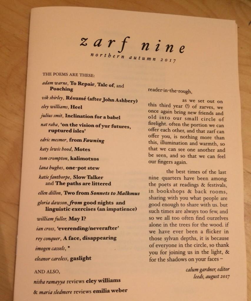 zarf mag aug 17